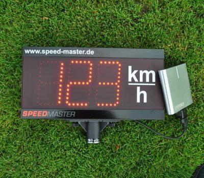 Mobile Geschwindigkeitsmessanlage mit Akku6