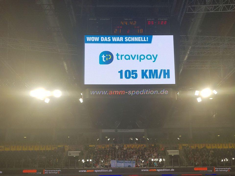 Wurfgeschwindigkeitsmessung in der Handball Bundesliga