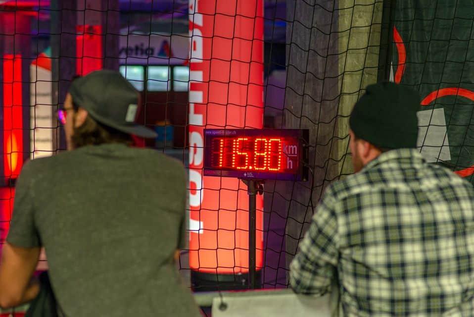 Drone race_speed measuring, swiss drone league_bern