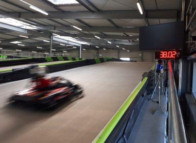 speed measuring system Karting