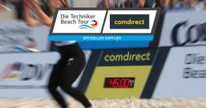 Schnellster Aufschlag Techniker Beachtour, Beachvolleyball Arenavariante