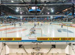 Speedmaster, Installation Arenavariante Eishockey, ohne Pfeile
