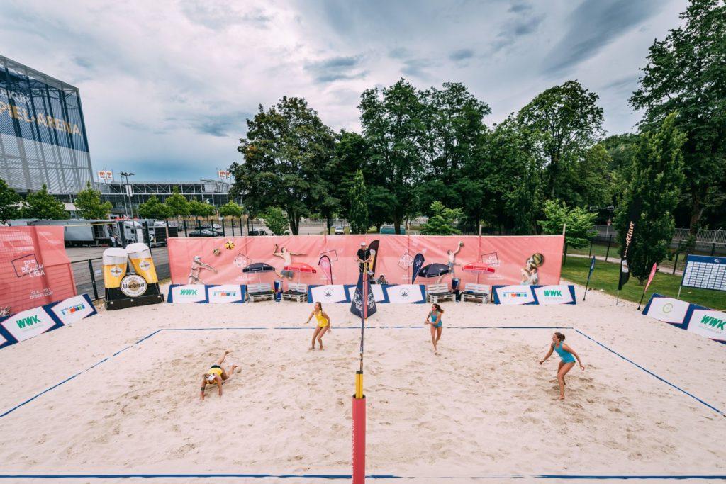 Aufschlagmessung Beachvolleyball_Die Beach Liga