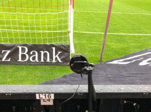 Geschwindigkeitspresenting VfB Stuttgart, Aufbau Sensoren 2