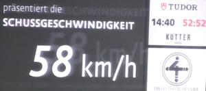 Geschwindigkeitspresenting VfB Stuttgart, Presenting auf Arenaleinwand 1