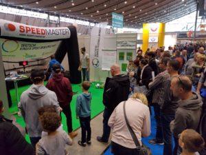 Speed measuring system-branded inflatable goal-fair-highlight