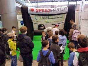 Speed measuring system-inflatable goal-fair-highlight
