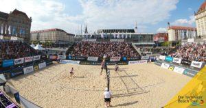 beachvolleyball-speed measuring- sponsoring