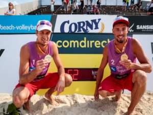 beachvolleyball-speed presenting- sponsoring comdirect-winner