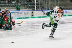 hockey-hardest shot competition-augsburger panther