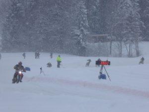 ice racing alberschwende-speed measurement
