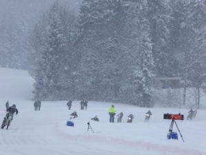ice racing alberschwende-weatherproof speed measuring system