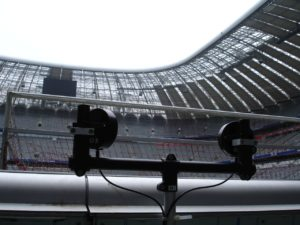 installing the stadium version of the speedmaster-allianz arena munich