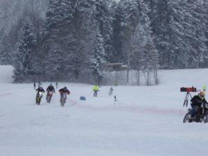 speed measurement in motorsport-ice racing-speed presenting