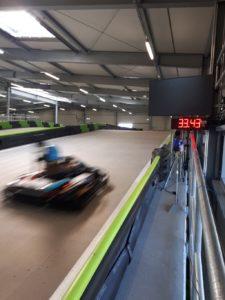 speed measuring of go-karts-karttrack osnabrueck