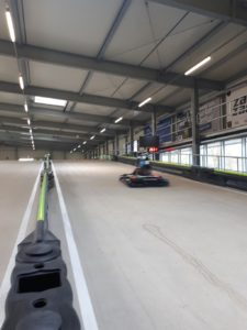 speed measuring of karts
