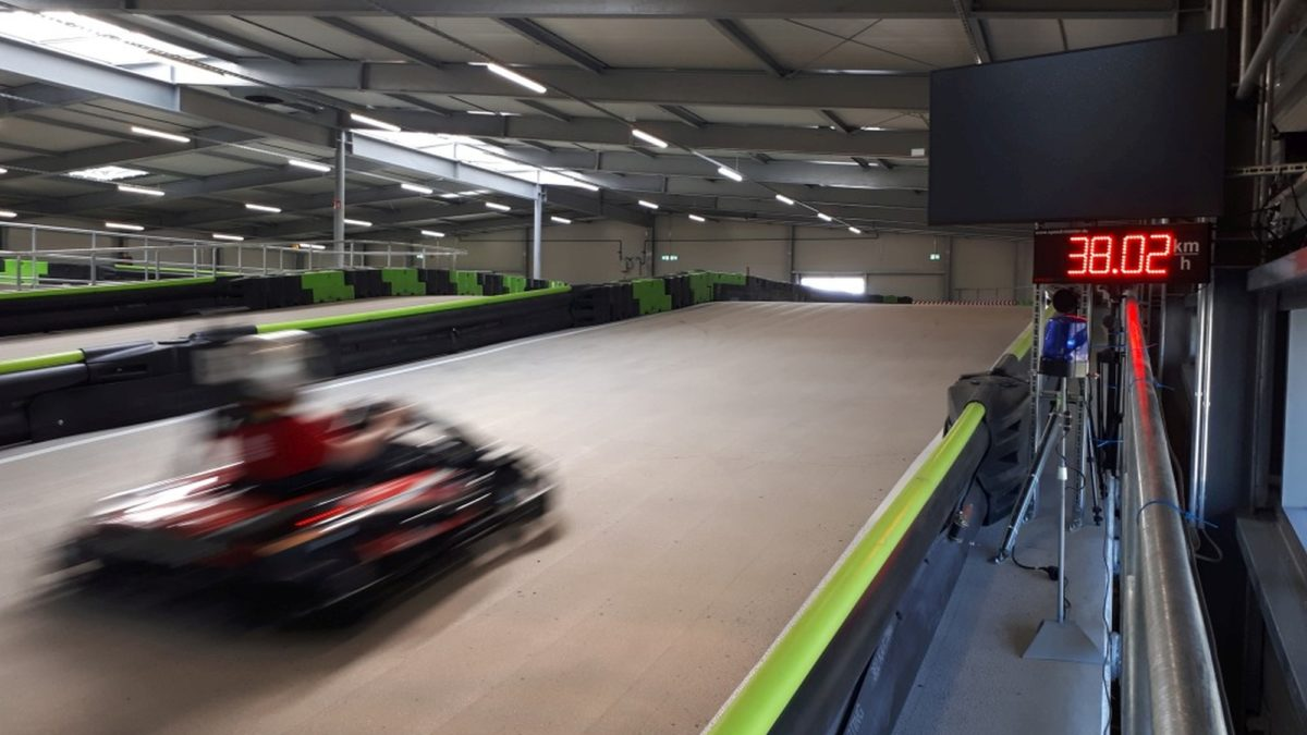 speed measuring of karts-mobile speed radar