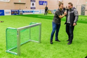 speed measuring system-inflatable goal-in sports-winner