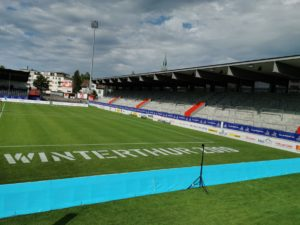 Speed measuring at the Fistball World Championships 2019 winterthur_arena design