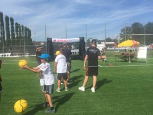 Speed measuring at the Fistball World Championships 2019 winterthur_event tool
