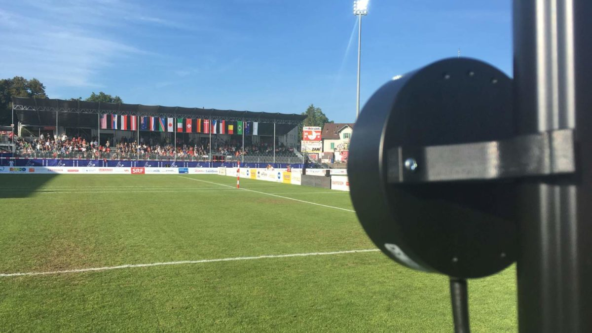 speed meauring in fistball_world championships 2019 winterthur_stadium design