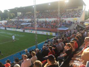 speed meauring in fistball_world championships 2019 winterthur_stadium design1