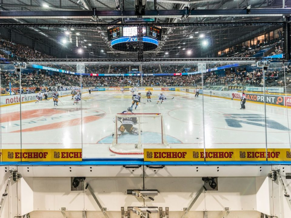 speed presenting in hockey-sensor mounting