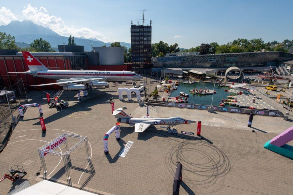 Geschwindigkeitsmessung Swiss Drone League
