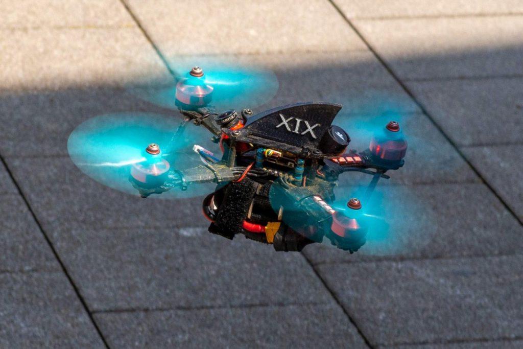 Renndrohne Swiss Drone League