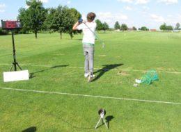 Speedmaster Abschlag Geschwindigkeitsmessung Golf