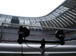 Speedmaster Arena design Bundesliga, speed meassuring FC Bayern Munich