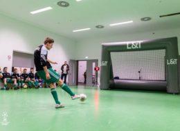 Speedmaster Geschwindigkeitsmessanlage und aufblasbares Tor im Sport Addi-Vetter-Cup