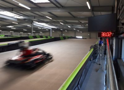 Speedmaster speed meassurement Kart Kart track Osnabrück
